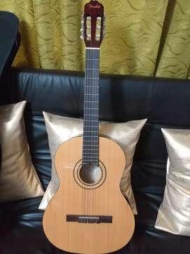 Guitarra fender acústica
