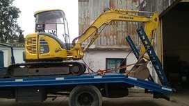 excavadora retroexcavadora minicargadora alquiler