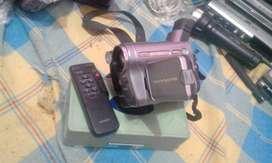 Camara d  video