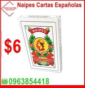 Naipes Cartas Españolas a  $6