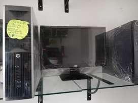 Oferta computadores hp intel core i3 en oferta con monitor lcd