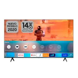 "TV SAMSUNG 43"" Pulgadas 108 Cm 43TU8000 LED 4K-UHD Plano Smart TV"