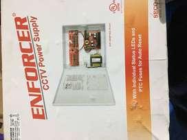 Tablero CCTV Enforcer EVP-124M6P16Q CCTV Power Supply múltiples cámaras de vigilanciaSalidas fusionadas de tipo PTC indi
