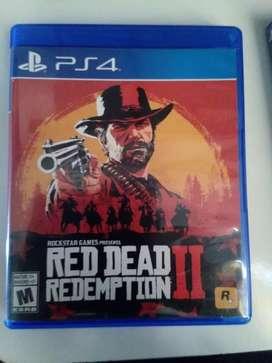 Red dead 2  ps4 liquido