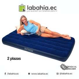 Colchón Inflable 2 plazas marca Intex