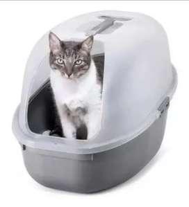 Arenero Grande para Gatos con Tapa y Pala