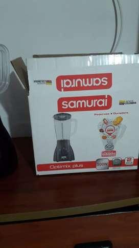 Se vende licuadora nueva samurarai