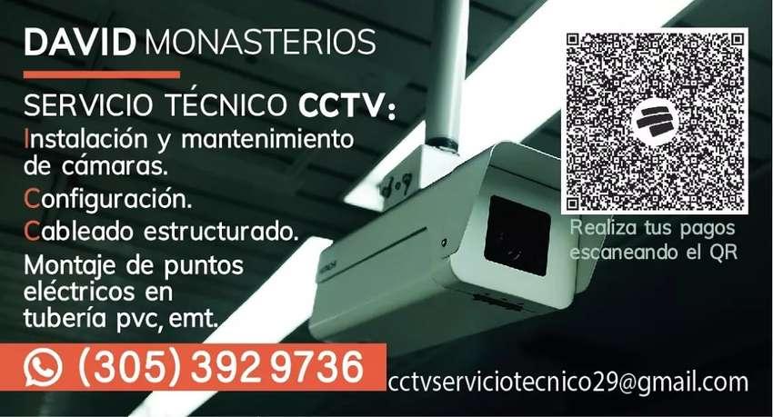 Instalación y mantenimiento CCTV