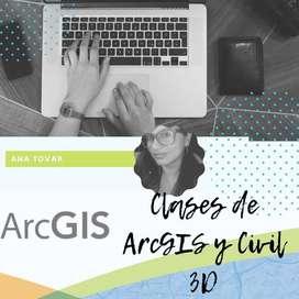 CLASES DE ARCGIS Y CIVIL 3D  CAD