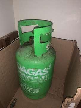 Pipa de gas por 9kg con gas