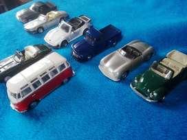 Autos de coleccion clasicos escala 1/38