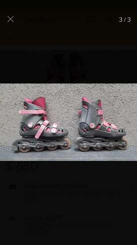 Patines Rollers Talle 33