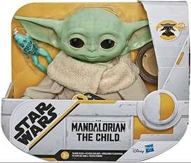 Star Wars Baby Yoda Con Sonidos Hasbro