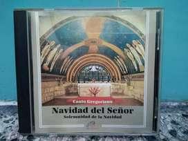 CD de canto gregoriano Navidad del Señor