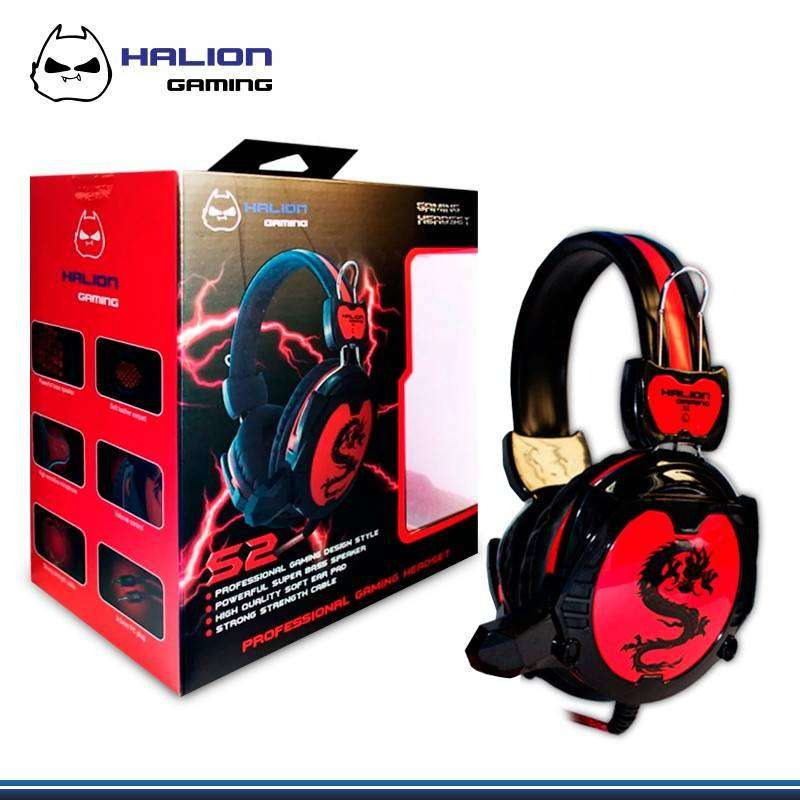 AUDIFONO GAMING HALION S2 0
