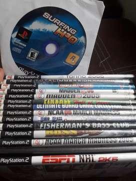Remato juegos play 2 originales