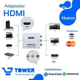 MINI HDMI Convierte tu TV ANITGUA a HDMI