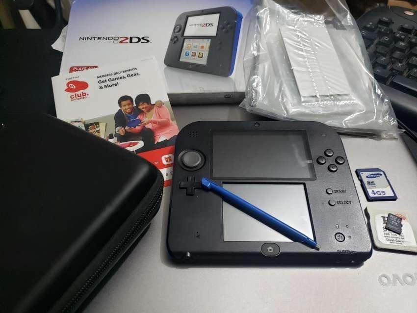 Nintendo 2ds Perfecto 8gb R4 4gb, juego original Pac-Man 0
