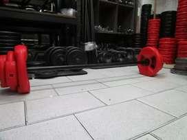 Kit body pump 17kg,pvc,funcional,barra reforzada