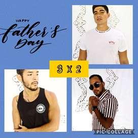 3X2 -Promociones por dia del padre (VALIDO HASTA AGOTAR STCOK)
