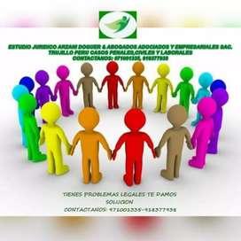 Asesoria Legal Casos Penales,Civiles, Laborales