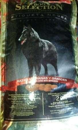 Alimento Dog Selection Etiqueta Negra