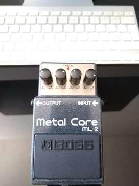 Pedal Metal Core Boss | ML-2
