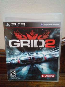 Grid 2 Play Station 3 PS3 Carreras Autos Juego