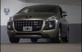 Peugeot 3008 thp allure 2013 con 80 mil km