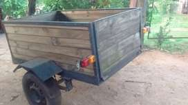 Carro o trailer para auto o camioneta