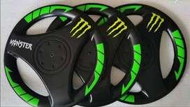 Tapas para aros de motos Bajaj