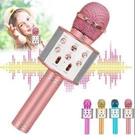 Micrófono Karaoke Bluetooth Inalámbrico + Parlante