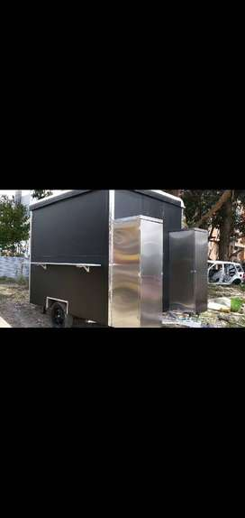 Vendo hermoso trailer para comidas rápidas
