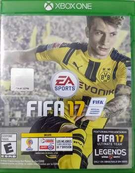 Vendo juego Fifa 2017 original Xbox One