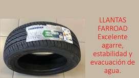 Llantas Farroad excelente calidad, disponemos en todas las medidas a buen precio!
