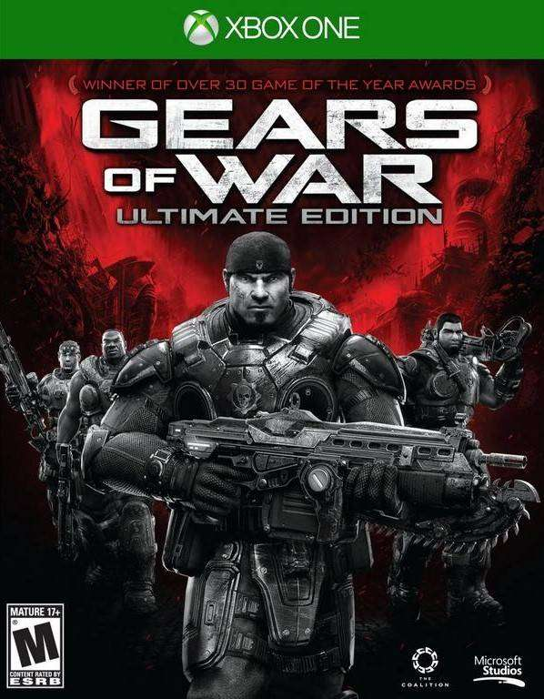 Gears Of War Ultimate Ed Xbox One, Físico