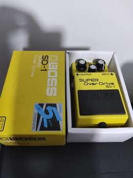 Pedal Boss SD 1 para guitarra
