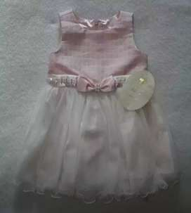 Vestido Importado de niña 0 - 3 meses