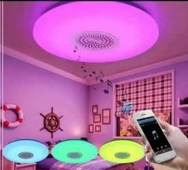 Foco Lampara LED Bluetooth con control Rgb musical