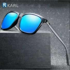 lentes nuevos de sol marca karl polarizados proteccion UV400 aluminio, delivery gratuito