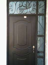 Puertas de entrada principal metálicas