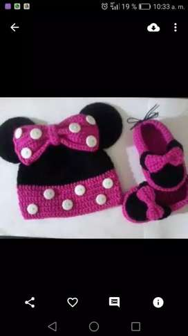 Gorro de minnie