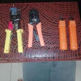 Ponchadoras de Impacto Y Rj45 para Redes