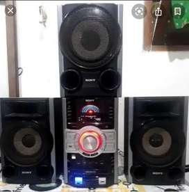 Equipo de sonido Sony Genezy