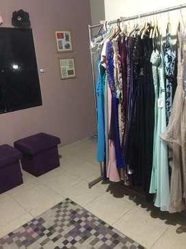 Vendo negocio de alquiler de vestidos