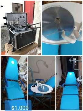 Se vende sillón dental portátil