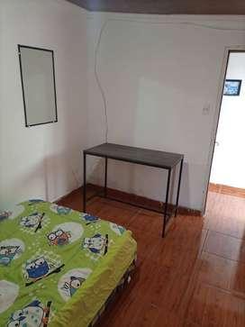Se renta habitaciones sencillas amobladas