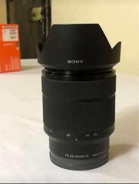 Lente Sony 28-70 OSS