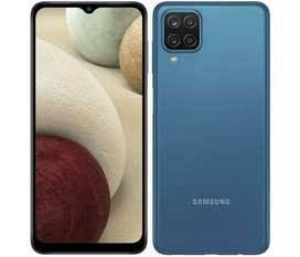 Celular Samsung A12 4gb/64gb 48mpx 4 Camaras Huella 5000ma