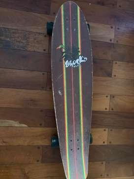 Skate Longboard Shock'n Blue